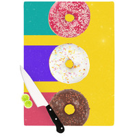 """Danny Ivan """"Donuts"""" Cutting Board, 11.5"""" x 8.25"""" - Outlet Item"""
