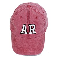 AR State Abbreviation Ball Cap
