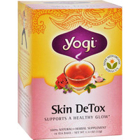 Yogi Skin Detox Herbal Tea - 16 Tea Bags - Case Of 6
