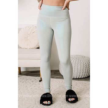 Well Holo There Foil High Waisted Leggings