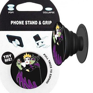 Evil Queen & Maleficent Phone Stand & Grip