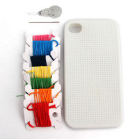 thumbsUp! USA: iPhone 4 Cross Stitch Case, at 12% off!