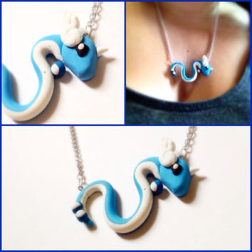Pokemon Dragonair Handmade Necklace