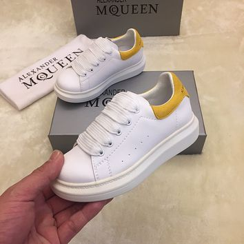 McQueen Child Girls Boys shoes Children boots Baby Toddler Kids Child Fashion Casual Sneakers Sport Shoes