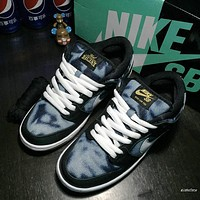 Nike SB Dunk Low QS 745954-014 Size 36---45
