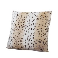 Leopard Print Throw Pillow Cover