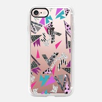 Geometric 90s throwback iPhone 7 Case by Vasare Nar | Casetify