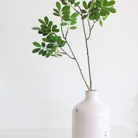 "Faux Wedding Greenery Ficus Leaf Branch - 30.5"" Tall"
