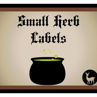 Small Herb Labels, 1 Inch