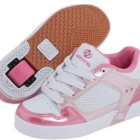 Heelys Street Lo Roller Shoes (White/Pink)
