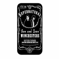 Supernatural The Winchester iPhone 5s Case
