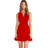 Sleeveless A Line Party Dress