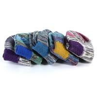 New Ethnic Cotton Ankle Socks Winter Warm National Style Colorful Knit Socks Winter
