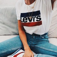 Levi's All-match leisure T-shirt