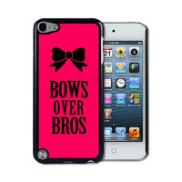 IPod 5 Touch Case Thinshell Case Protective IPod 5G Touch Case Shawnex Bows Over Bros Pink