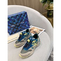 lv fashion men womens casual running sport shoes sneakers slipper sandals high heels shoes 7