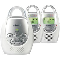 Vtech(R) Vtech Dm221-2 Safe&Sound Digital Audio Baby Monitor With 2 Parent Units