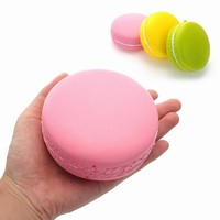 Squishy Macaroon Jumbo 10cm Macaron Sweet Soft Slow Rising Collectioin Gift Decor Toy