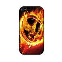 THE HUNGER GAMES Rubber iPhone Case iPhone 4 iPhone 4 by caseOrama
