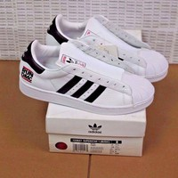 Adidas Superstar RUN DMC 35th Anniversary DS Size 8 Deadstock FREE SHIPPING