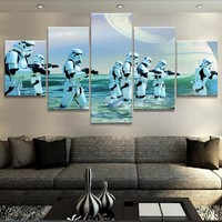 Stormtroopers Water Rogue One Death Star