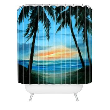 Rosie Brown Good Morning Sunshine Shower Curtain