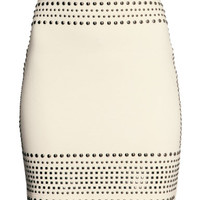 Studded Skirt - from H&M