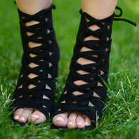 Stay Grounded Heels