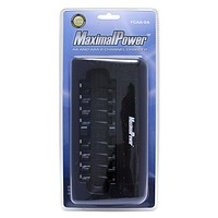 8-Port LED Ultra Fast Rechargeable Battery Charger for AA AAA Batteries