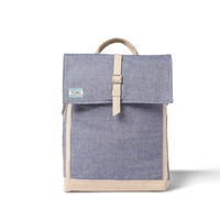 CHAMBRAY COLOR FLECK TREKKER BACKPACK