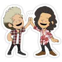 Harry and Niall High-Five