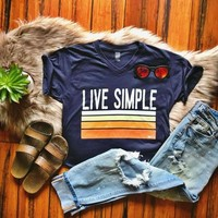 Z Live Simple Graphic Tee