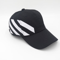 OFF-White Women Men Embroidery Sports Sun Hat Hip Hop Baseball Cap Hat