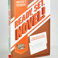 Scholastic Ready, Set, Novel! Writer's Workbook by Chronicle Books from ModCloth