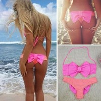 Sexy Women Swimwear Bikini Set Bandeau Push-Up Padded Bra Swimsuit Beachwear NEW [7901892167]