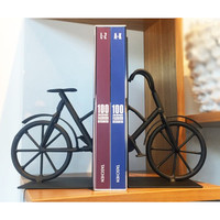 Iron Bicycle Bookends