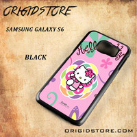 hello kitty 2 For Samsung Galaxy S6 - Gift Present Multiple Choice