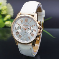NEW Fashion Couple Watch Charm Quartz Watches Leather Young Sports Women Men gold watch Casual Dress Wristwatches relogios feminino BY EZMAX = 6014638855