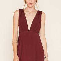 Contemporary Plunging Dress