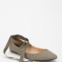 Urban Outfitters - Kimchi Blue Sweetheart Ankle-Tie Skimmer