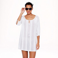 J.Crew Womens Lace-Stripe Tunic