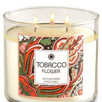 3-Wick Candle Tobacco Flower
