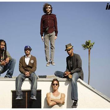 Incubus Band Portrait Poster 11x17