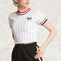 NYC Classic Graphic Crop Tee