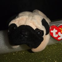 Pugsly the Pug Beanie Babies Collection Original