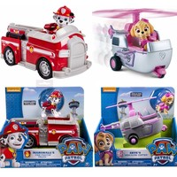 Genuine Nickelodeon Spin Master Paw Patrol RESCUE RACERS VEHICLE Skye's High Flyin Copter Ryder's Rescue ATV, Vehicle and Figure