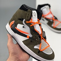 Nike Air Jordan 1 Retro High OG Barb Sports Basketball Shoes