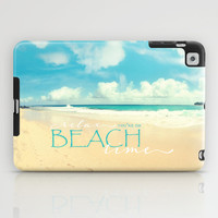 Beach time iPad Case by Sylvia Cook Photography