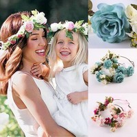 Mommy and Me Flower Crown Headband