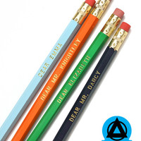 Jane Austen Pencil Pack (Set of 8)